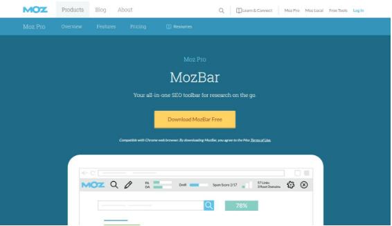 É uma extensão free muito utilizada para análise de SEO de modo geral em sites visitados.