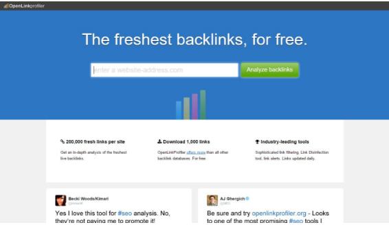 A Open Link Profiler serve para análise de SEO e o melhor é que ela pode ser usada gratuitamente.