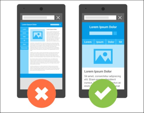 Proporcione uma boa experiência para o seu usuário em dispositivos móveis