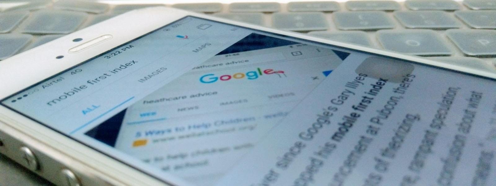 Com esse posicionamento do Google de trabalhar com Mobile-First Indexing, as empresas terão que olhar primeiro para seu tráfego mobile.